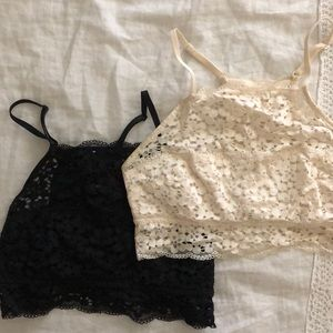 Aerie Lace Bralettes - 2 for 1!